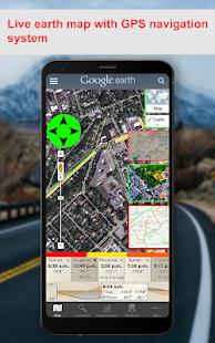 Live Earth Map - World Map GPS Navigation