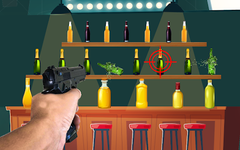 Bottle Shooting Target : Real Bottle Shooter For Android 3