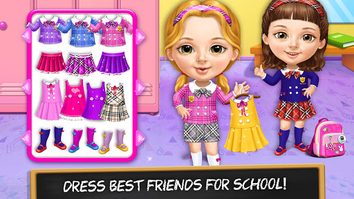 Sweet Baby Girl Cleanup 6 - School Cleaning Game  screenshots 3