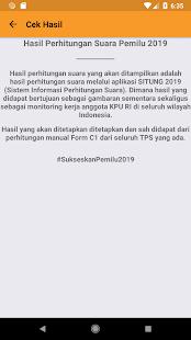 KPU RI PEMILU 2019 screenshots 5