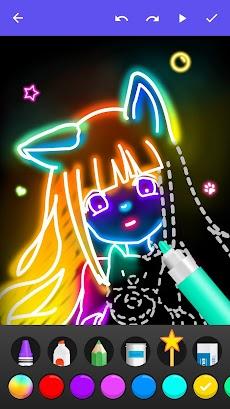 Draw Glow Comicsのおすすめ画像3