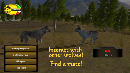 WolfQuest 2.7.399 MOD + APK + DATA Download 3