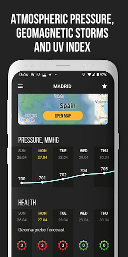 MeMeteo - global forecast & hurricane tracker screenshots 5