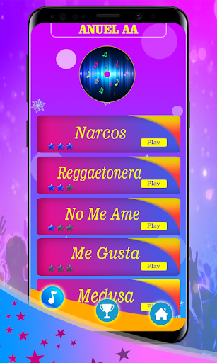 Anuel AA ud83cudfbc Piano game 3.0 Screenshots 1