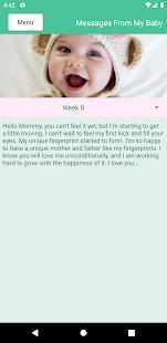 Pregnancy Tracking 1.11 Screenshots 4