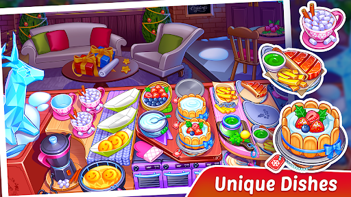Christmas Fever : Cooking Games Madness 1.0.7 screenshots 8