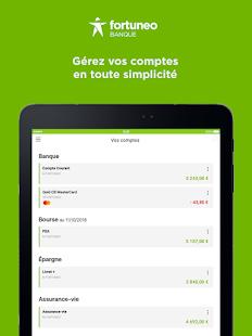 Fortuneo, mes comptes banque & bourse en ligne  Screenshots 9