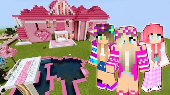 Skins ???? Barbie Craft For Minecraft PE 2021 Apk Download 4