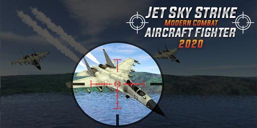 Jet Sky Strike Modern Combat:Aircraft Fighter 2020 APK MOD (Astuce) screenshots 3
