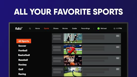 fuboTV: Watch Live Sports & TV screenshots 12