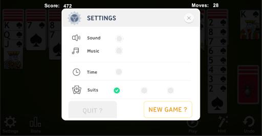 Spider Solitaire 4.7.4.6 screenshots 11