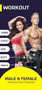 Olympia Pro Apk- Gym Workout & Fitness Trainer [Paid] 1