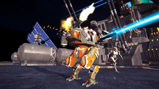 Mech Wars: Multiplayer Robots Battle modavailable screenshots 2