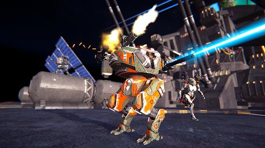 Mech Wars: Multiplayer Robots Battle 2