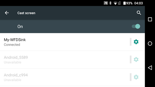 Wi-Fi Display (Miracast) Receiver screenshots 3