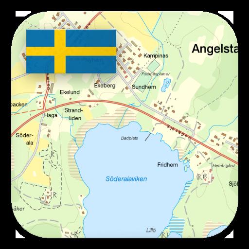 Sverige Topo Kartan