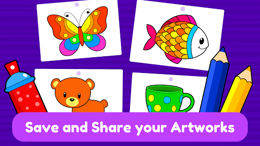 Learning & Coloring Game for Kids & Preschoolers  screenshots 7