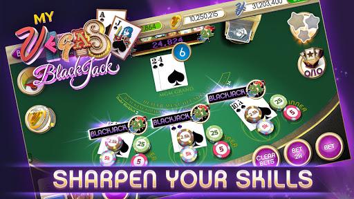myVEGAS Blackjack 21 - Free Vegas Casino Card Game  screenshots 3