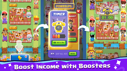 Pet Idle Miner: Farm Tycoon u2013 Take Care of Animals apkpoly screenshots 11