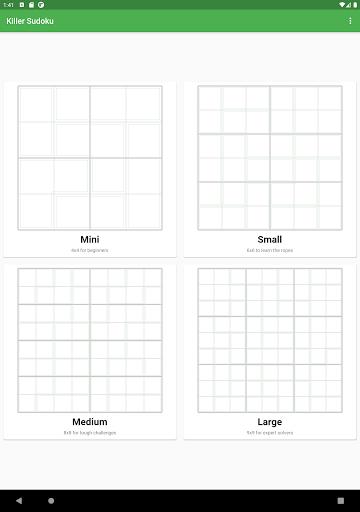 Killer Sudoku 2.1.7 screenshots 11