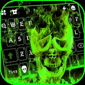 icono Tema de teclado fuego del infierno