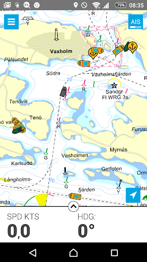 Eniro På sjön - Gratis sjökort  screenshots 4
