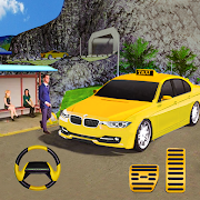 City Taxi Traffic Sim 2020-Taxi Games New Games