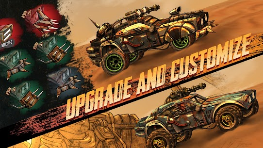 Road Warrior Mod Apk: Combat Racing (No Ads) Download 5