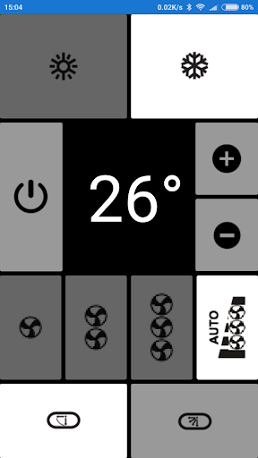 Electra AC Remote, as seen in picture! NO settings  Screenshots 4