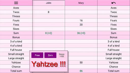 Yatzy Protocol & game screenshots 21