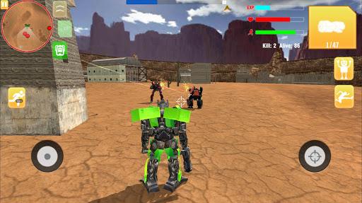 Robot War Free Fire - Survival battleground Squad 1.0 screenshots 5