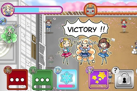 Magical girl : save the school Hack for Android and iOS 2