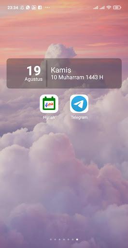 Kalender Hijriah -Puasa Sunnah android2mod screenshots 3