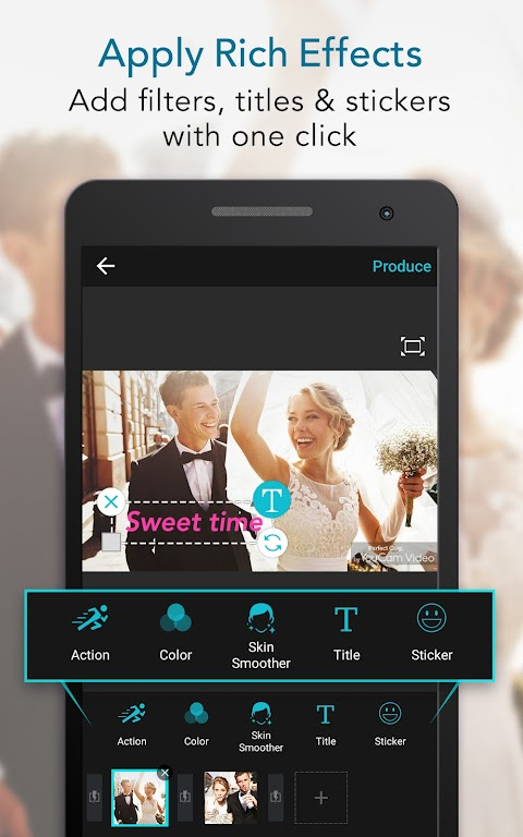 YouCam Cut – Easy Video Editor & Movie Maker  poster 1