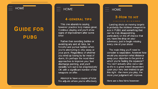 Guide for PUBG : tips & tricks 2020 3