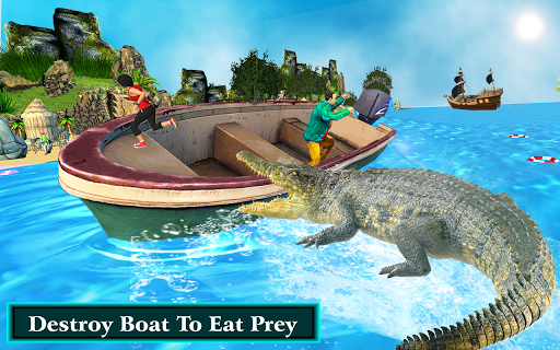 Hungry Crocodile Simulator Attack 2.1 screenshots 4