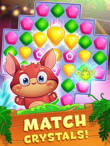 Crystal Crunch: New Match 3 Puzzle | Swap Gems 1.7.1 screenshots 11