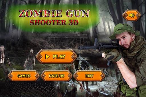 Zombie Gun Shooter  Screenshot 1