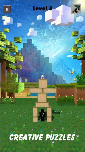 Break Block - Recuse The Pig - Puzzle Miner Game apkpoly screenshots 3