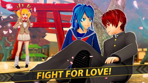 Anime Girl Run - Yandere Survival - Manga Love  screenshots 11