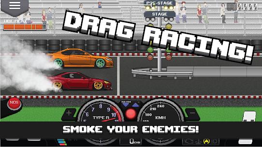 Pixel Car Racer MOD APK (Unlimited Money, All Unlocked) – Updated 2021 1