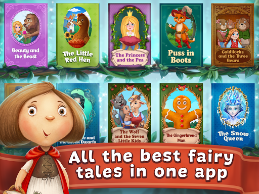 Fairy Tales ~ Childrenu2019s Books, Stories and Games screenshots 12