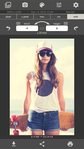 Image Size - Photo Resizer 6.2 Screenshots 4