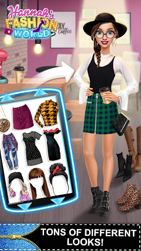 Hannahu2019s Fashion World - Dress Up & Makeup Salon  Screenshots 8