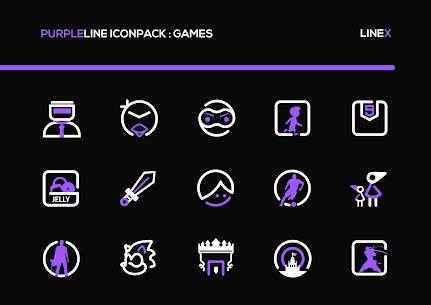 PurpleLine Icon Pack APK [PAID] Download for Android 5