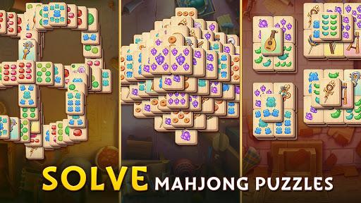 Pyramid of Mahjong: A tile matching city puzzle screenshots 11