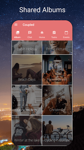 Coupled - Relationship Tracker, Love Days Calendar  screenshots 4