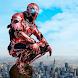 Super Crime Steel War Hero Iron Flying Mech Robot - Androidアプリ