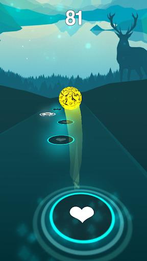 Code Triche Go The Distance - Hercules Rush Tiles Magic Hop (Astuce) APK MOD screenshots 1