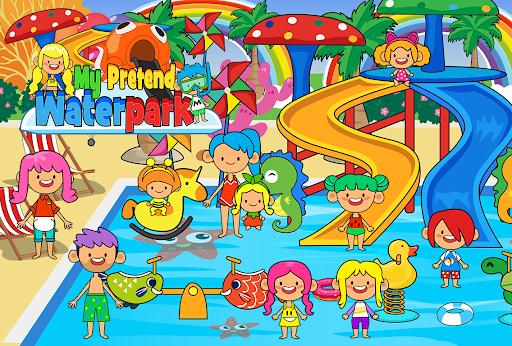My Pretend Waterpark - Kids Summer Splash Pad apkpoly screenshots 2